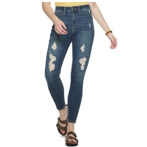 SO Ultimate High Rise Distressed Jeggings